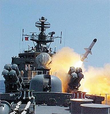 Hình ảnh tên lửa mới của Triều Tiên. Nguồn: Đài truyền hình Triều Tiên