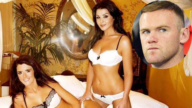 Rooney đã từng rất nhiều lần dính vào scandal tình ái