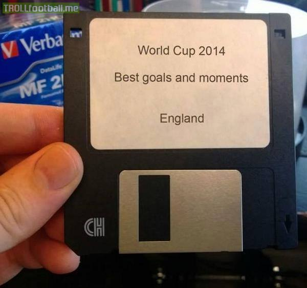 Những pha bóng hay của ĐT Anh chỉ đáng lưu trong đĩa mềm