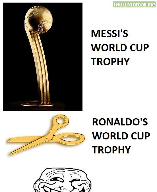 Messi bóng vàng, Ronaldo kéo vàng