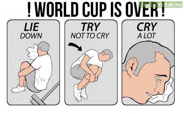 Thế là hết World Cup rồi!
