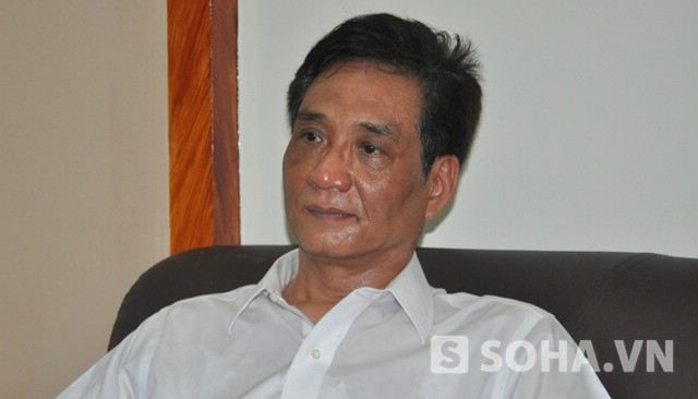 TS. Hoàng Ngọc Giao – Viện trưởng Viện nghiên cứu chính sách pháp luật phát và triển (Ảnh: Tuấn Nam)