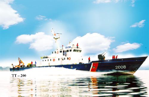 Tàu Cảnh sát biển 2008 lớp TT-200