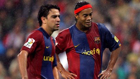 Xavi và Ronaldinho