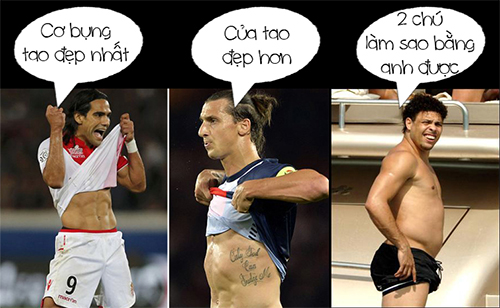Falcao, Ibra ngồi nhà còn Ronaldo đã từng là Vua phá lưới World Cup!!!
