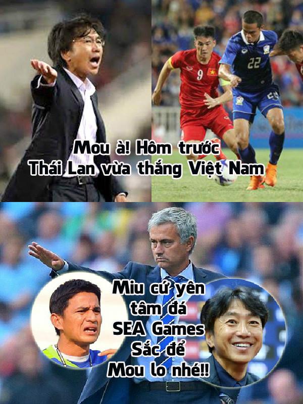 Mourinho sang Thái Lan chính là để báo thù Kiatisak giúp Miura!