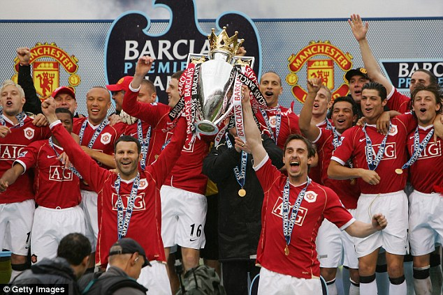 Ronaldo đạt nhiều thành công với Man United.
