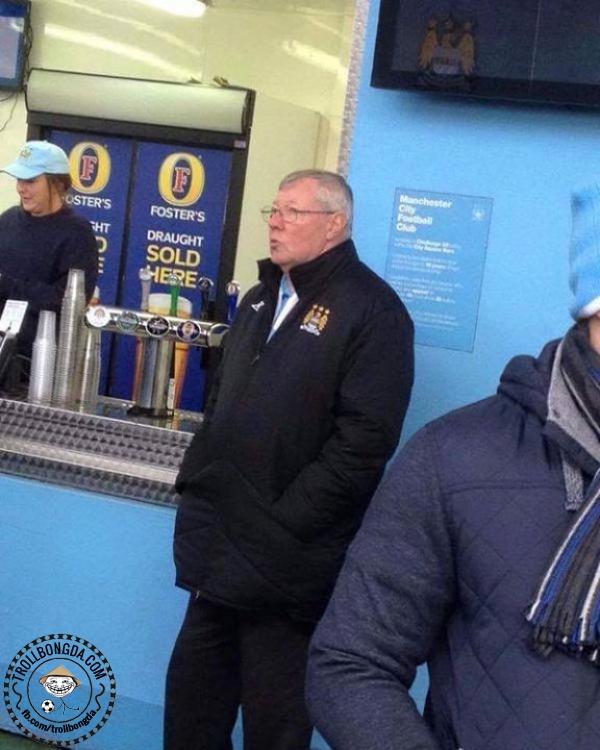 Ferguson đến xem Man City