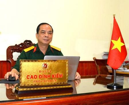 Đại tá Cao Đình Kiếm, Phó Chính ủy Bộ Tư lệnh Bảo vệ Lăng Chủ tịch Hồ Chí Minh.