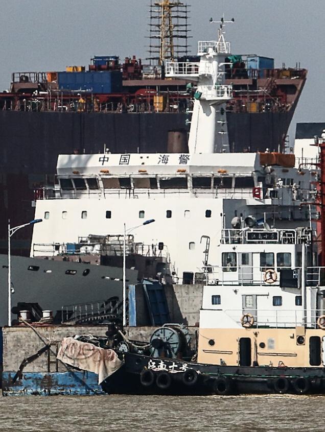 Với kích thước như vậy, con tàu này đã vượt qua cả tàu tuần duyên lớp Akitsushima của Nhật Bản với lượng giãn nước trên 7.000t.