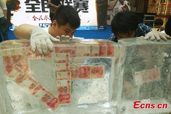 Sự kiện gây chú ý diễn ra tại một hội chợ triển lãm đồ điện tử ở thành phố Thẩm Dương, tỉnh Liêu Ninh hôm 7/6.
