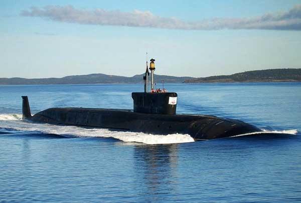 Tàu ngầm hạt nhân Yuri Dolgorukiy.