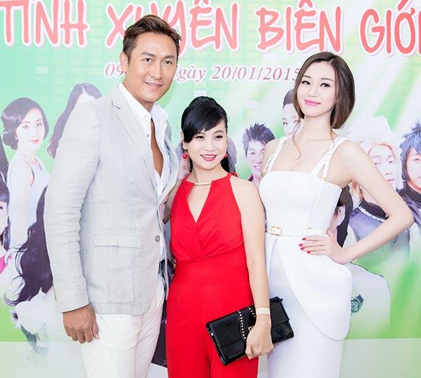 Vừa qua, diễn viên Hong Kong Mã Đức Chung đã có mặt trong buổi giới thiệu dự án phim Tình xuyên biên giới