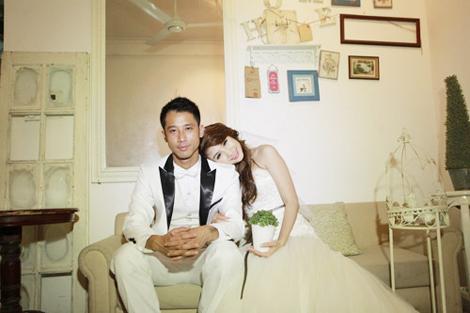 Như Thành từng thực hiện một bộ ảnh cưới với Phương Thảo nhưng chuyện của cặp đôi lại tan vỡ