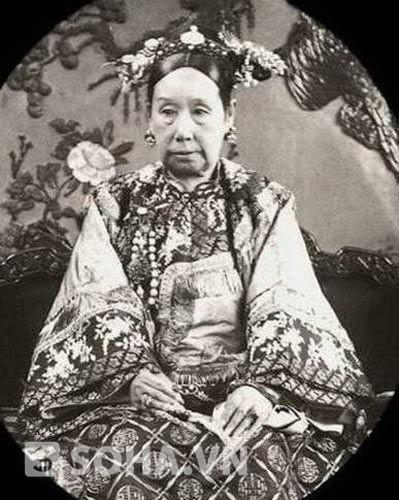 Chân dung Từ Hy Thái hậu