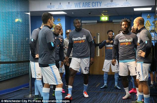 Yaya Toure không hạnh phúc ở Man City.