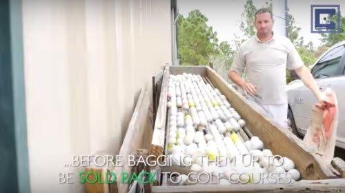 Berger kiếm 15 triệu USD nhờ nhặt bóng golf rơi xuống nước.