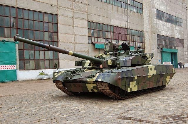 T-84 Oplot-M được Ukraine phát triển dựa trên dòng xe tăng T-80U của Liên Xô (cũ).