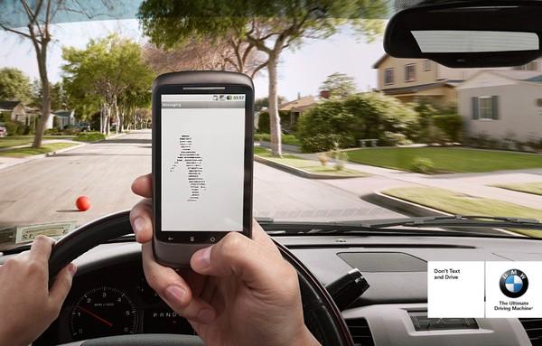 Nếu bạn thích nhắn tin, làm ơn đừng lái xe