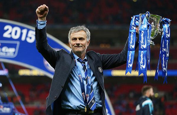 Trong sự nghiệp cầm quân, Mourinho đã có 22 danh hiệu.