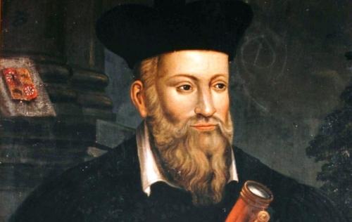 Nhà triết học người Pháp Nostradamus (1503-1566)