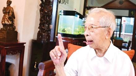 Ông Mười Hương tháng 4/2015.