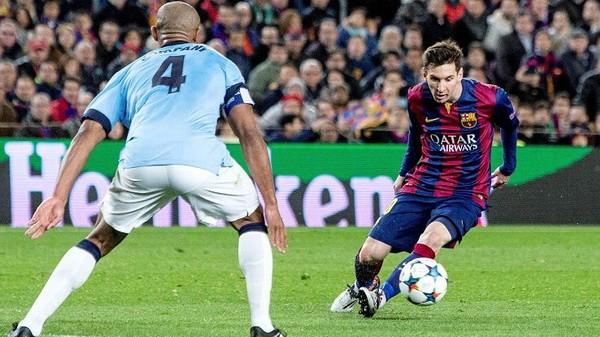 Messi hiếm khi ghi bàn vào những phút đầu trận, thay vào đó, anh dành thời gian để quan sát các hậu vệ đối phương.