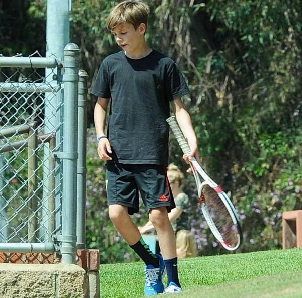Theo lời của HLV, Romeo thực sự có tài năng trong bộ môn tennis.