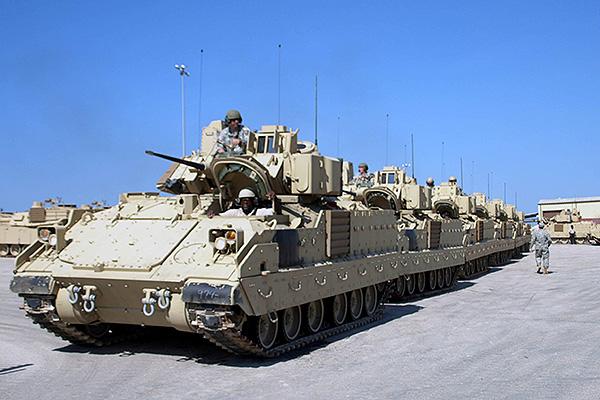 Xe chiến đấu bộ binh Bradley A3