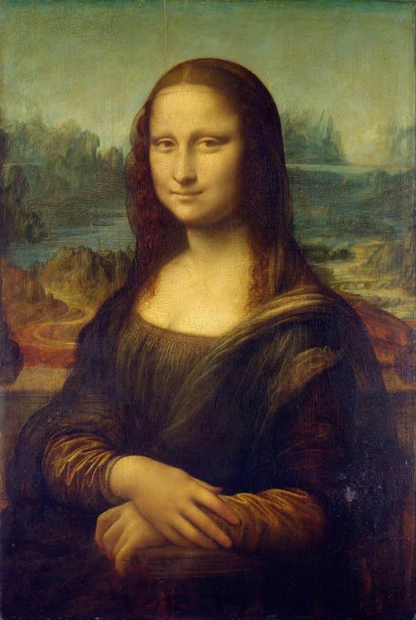 Bức họa Nàng Mona Lisa của Da Vinci.