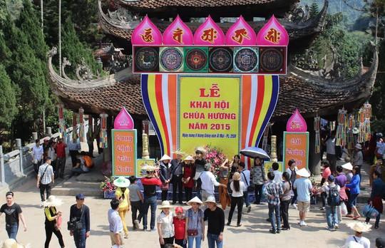 Huyện Mỹ Đức, TP Hà Nội nổi tiếng với lễ hội chùa HươngẢnh: Tuấn Vinh