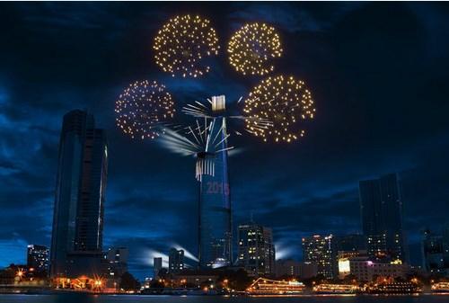 Nhiều nước trên thế giới có hoạt động bắn pháo hoa vào thời khắc giao thừa (ảnh minh họa)