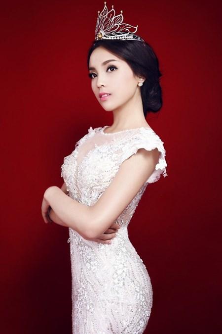 Hoa hau Ky Duyen qua loi ke ban be o DH Ngoai Thuong
