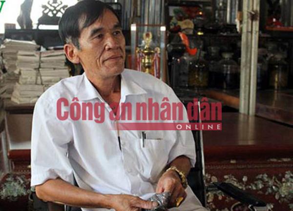 Nguyễn Thành Hưng (Hưng sóc) lúc chưa bị bắt.