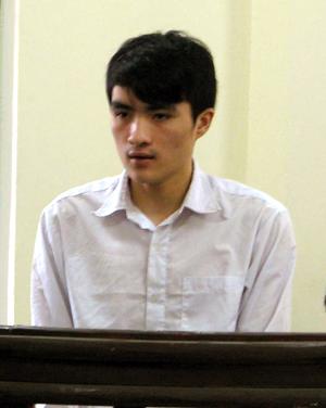 Nguyễn Văn Dương tại phiên tòa (Ảnh: Báo Quảng Ninh)