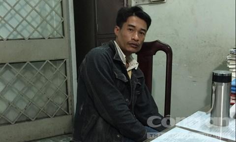 Đối tượng Phạm Văn Đồng đang bị tạm giữtại cơ quan công an