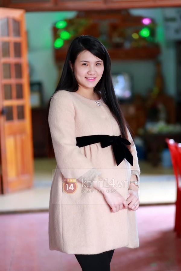 Khánh Chi cùng chồng về dự đám cưới anh trai Công Vinh 1