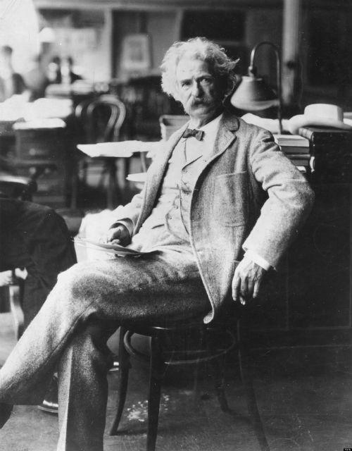 Mark Twain nổi tiếng bởi những danh ngôn bất hủ