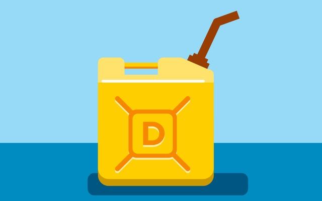iPhone 6S sử dụng nhiên liệu dầu diesel có thể hoạt động trong 10 ngày