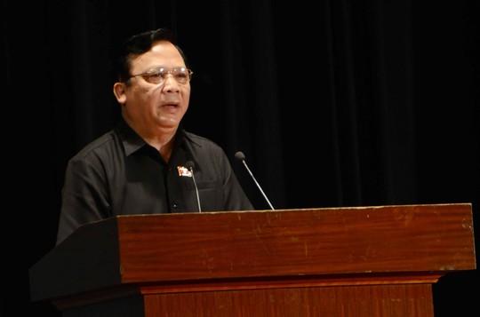 Ông Huỳnh Ngọc Sơn cho biết kỳ họp trù bị sắp tới sẽ có phút mặc niệm dành cho ông Nguyễn Bá Thanh