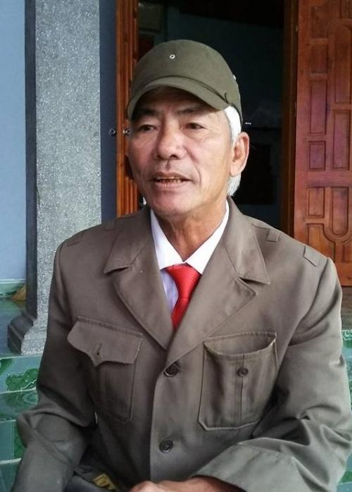Lương y Nguyễn Cao Niên trò chuyện với PV.
