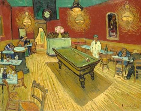 Bức họa Café de Nuit của Van Gogh, tháng 9-1888.