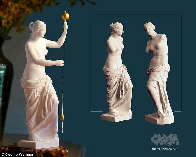 Các nhà khoa học giải mã tư thế cánh tay của tượng nữ thần Venus nhờ vào công nghệ in 3D