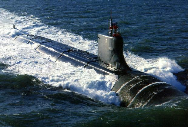 Tàu ngầm lớp Seawolf.