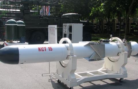 Tên lửa chống hạm KCT 15 do Việt Nam tự sản xuất