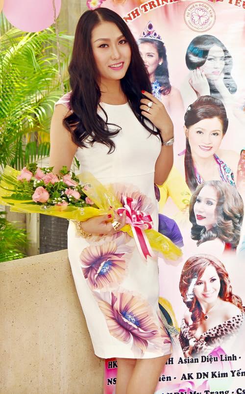 Trong một sự kiện diễn ra gần đây, dung mạo tươi trẻ, xinh xắn của Phi Thanh Vân nhận được rất nhiều phản hồi tích cực.