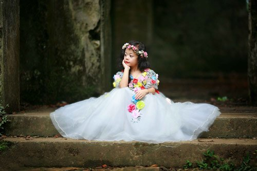 Nam Phương từng mong ước mình cũng được xinh đẹp, lộng lẫynhư công chúa trong phim