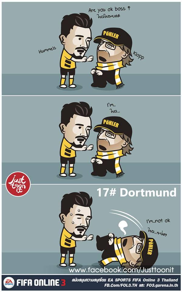Tình cảnh Dortmund lúc này
