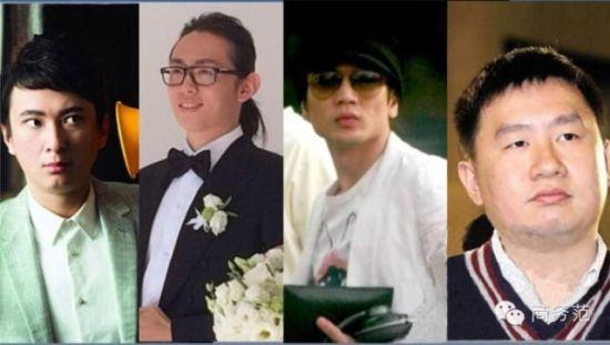 Chân dung 4 vị đại thiếu gia giàu có bậc nhất Trung Quốc.