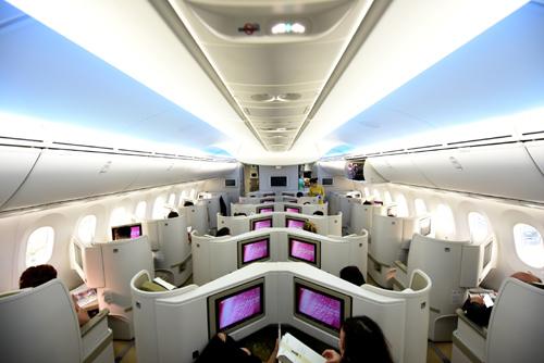 Vietnam Airlines đang nỗ lực làm việc với các nhà chức trách hàng không trên thế giới để đưa dịch vụ wifi lên máy bay.